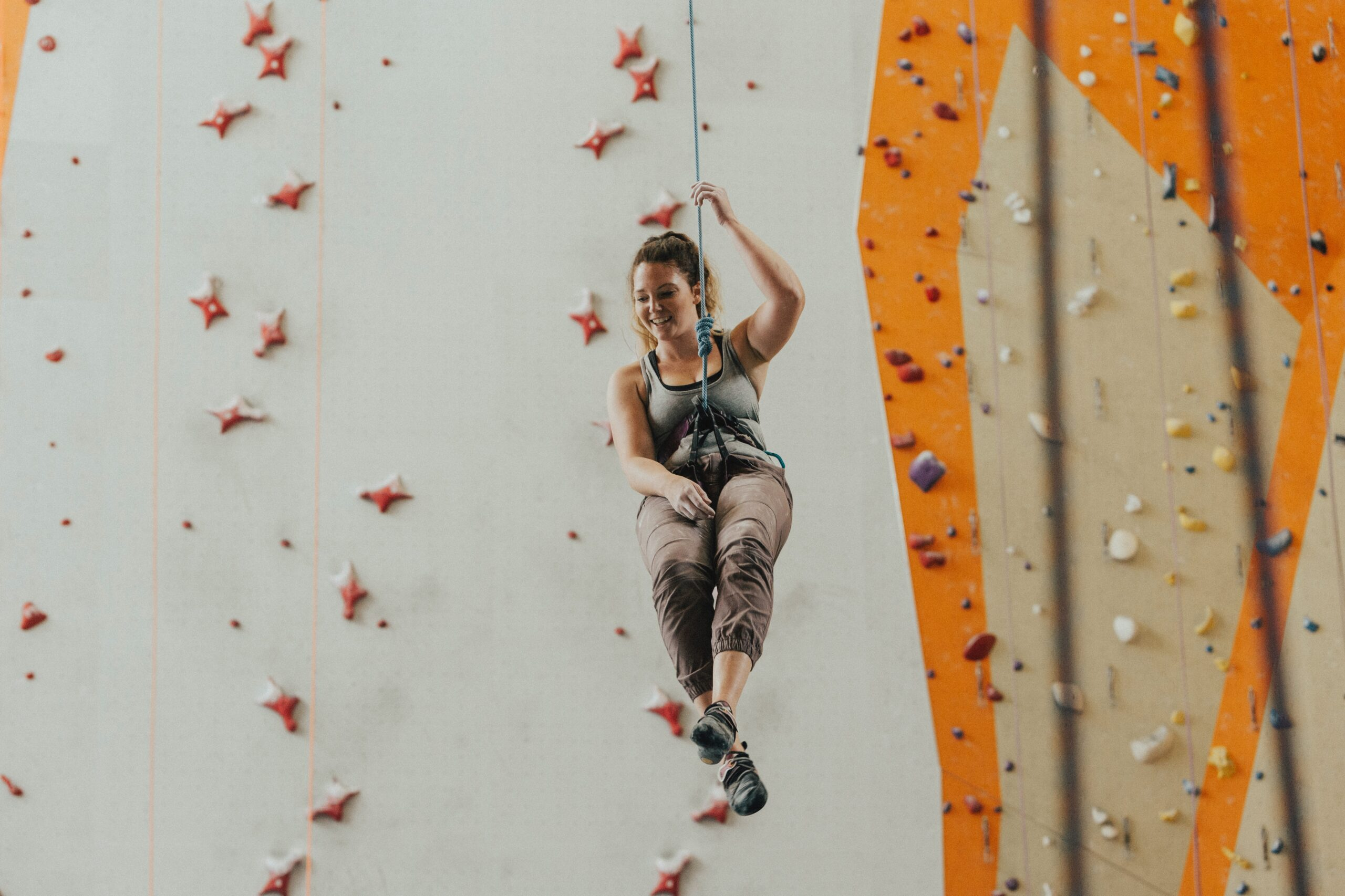 rock climbing in adventure therapy